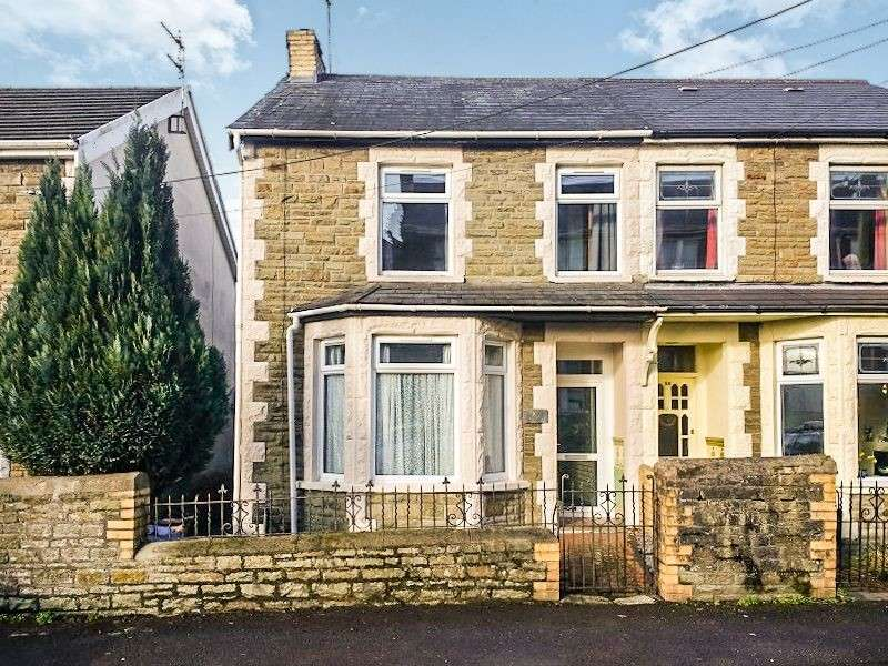 3 Bedrooms Semi Detached House for sale in Wimborne Road, Pencoed, Bridgend. CF35 6SG