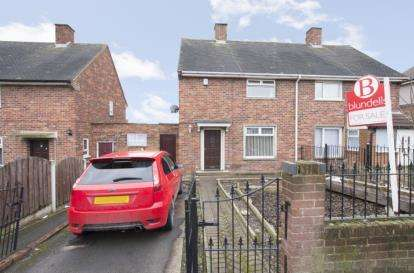 2 Bedrooms End Of Terrace House for sale in Doe Royd Crescent, Parson Cross, Sheffield