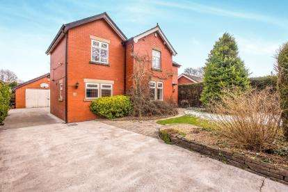 3 Bedrooms Detached House for sale in Paradise Lane, Leyland, Lancashire, .