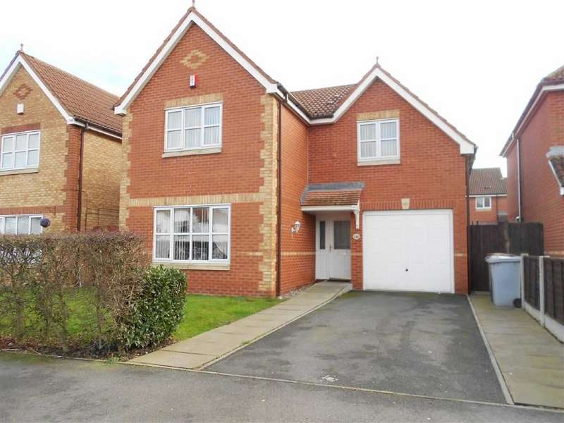 4 Bedrooms Detached House for sale in Valley Road, Crewe