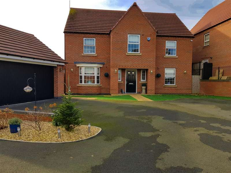 4 Bedrooms Property for sale in Rosefinch Way, Forest Town, Mansfield