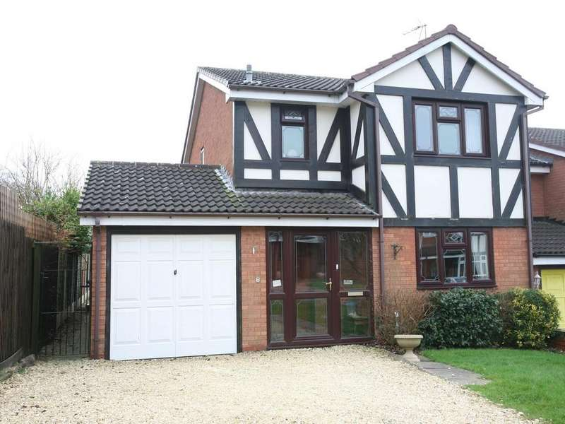 3 Bedrooms Detached House for sale in 7 Trentham Close, Heath Hayes, Cannock, WS11 7YU
