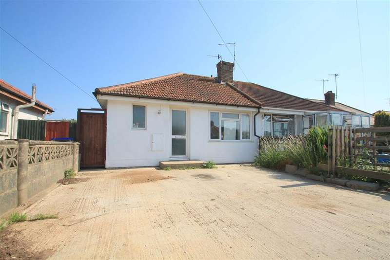 2 Bedrooms Semi Detached Bungalow for sale in West Way, Lancing
