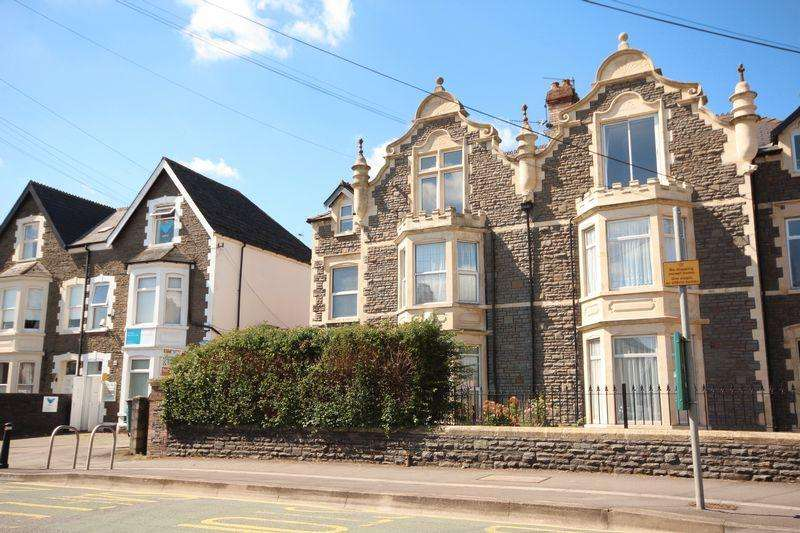 2 Bedrooms Maisonette Flat for sale in Station Road, Llandaff North