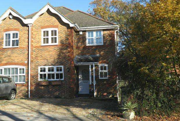 4 Bedrooms Semi Detached House for sale in QUIET PRIVATE ROAD. Kaynes Park, Ascot, Berkshire, SL5 8DP
