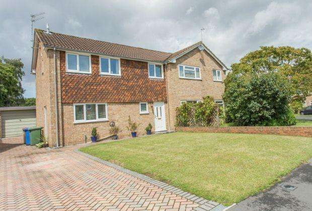 3 Bedrooms Semi Detached House for sale in LOVELY HOME. BLACKMOOR WOOD, ASCOT, BERKSHIRE, SL5 8EL