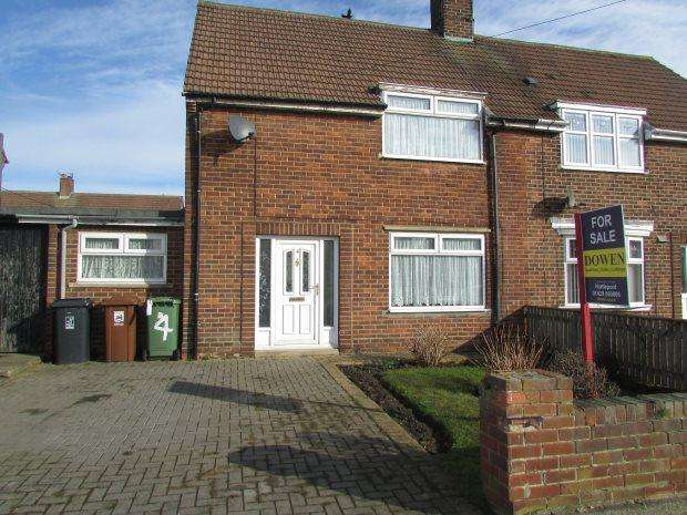 2 Bedrooms Semi Detached House for sale in AIRDRIE GROVE, ROSSMERE, HARTLEPOOL