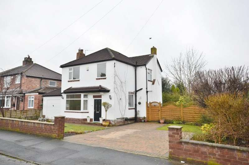 3 Bedrooms Detached House for sale in Attwood Road, Timperley, Altrincham