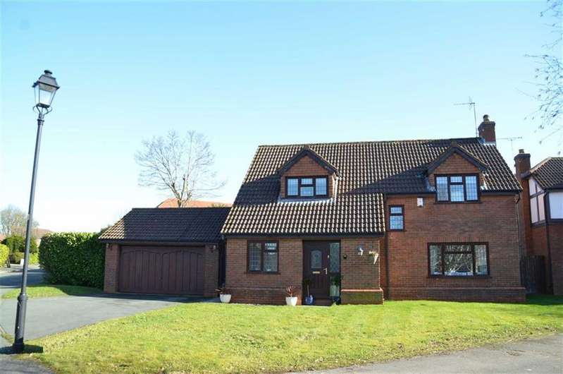 4 Bedrooms Detached House for sale in Cleveland Drive, Little Sutton, Ellesmere Port
