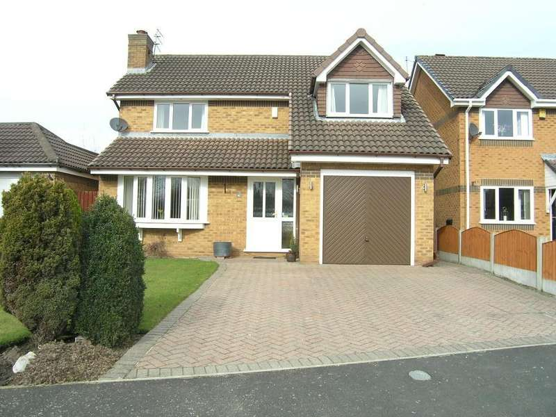 4 Bedrooms Detached House for sale in Nottingham Close, Woolston, Warrington