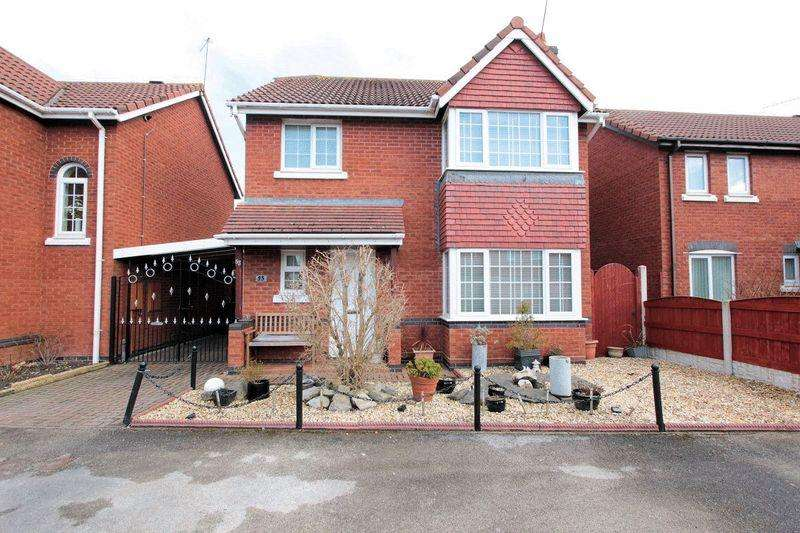 3 Bedrooms Detached House for sale in Roseview Crescent, Kinmel Bay