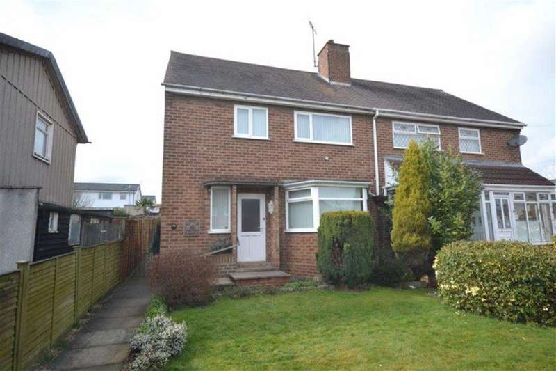 3 Bedrooms Semi Detached House for sale in Poyser Road, Hill Top, Nuneaton