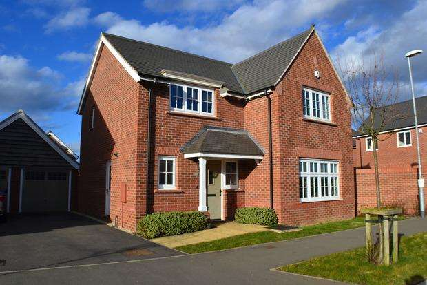 4 Bedrooms Detached House for sale in Jubilee Way, Countesthorpe, Leicester, LE8