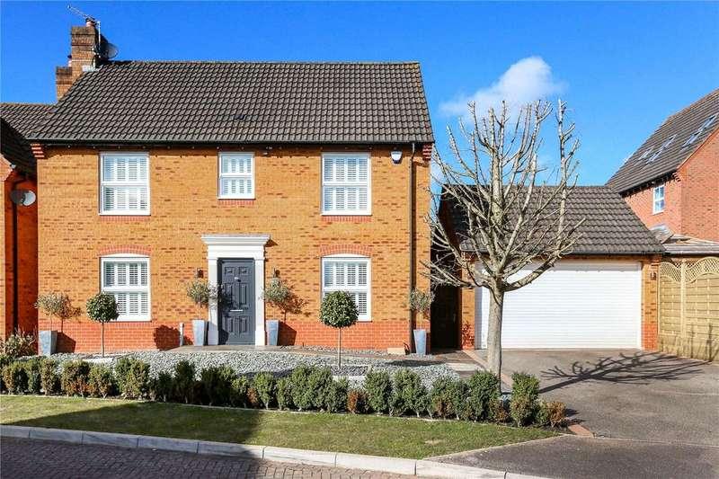 4 Bedrooms Detached House for sale in Howard Walk, Bridgeyate, Bristol