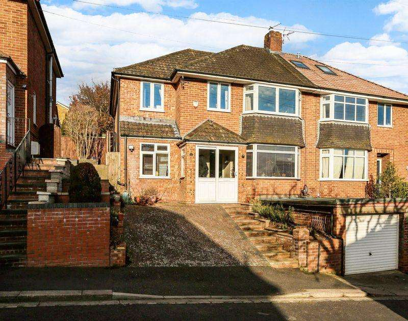4 Bedrooms Semi Detached House for sale in Falcon Close, Westbury on Trym