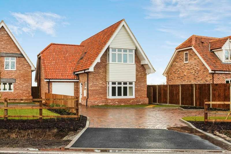 3 Bedrooms Detached House for sale in Tollesbury Road, Tolleshunt D'arcy, Maldon, CM9