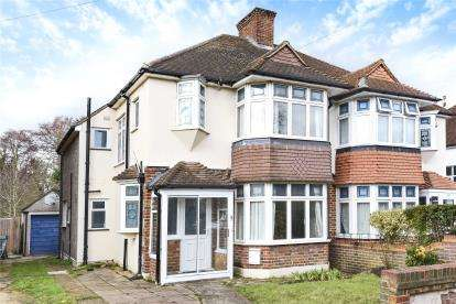 3 Bedrooms Semi Detached House for sale in Cavendish Way, West Wickham