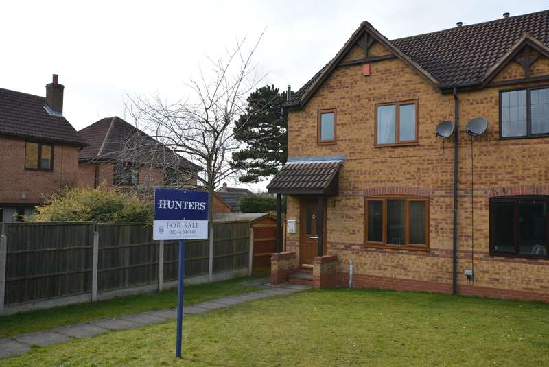 3 Bedrooms Semi Detached House for sale in Cedar Park Drive, Bolsover, Chesterfield, S44