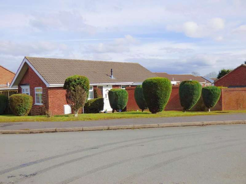 3 Bedrooms Detached Bungalow for sale in Cornfield Drive, Lichfield