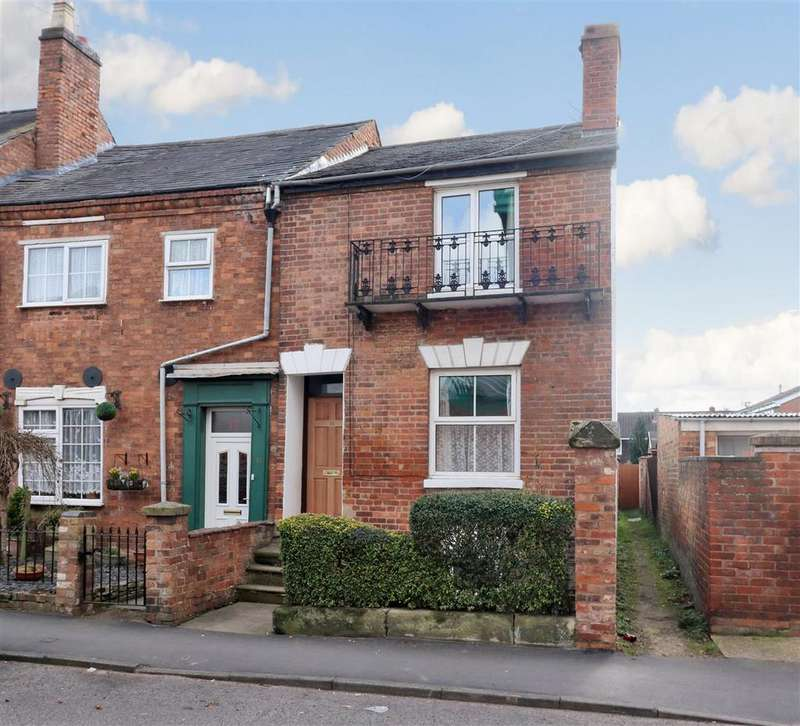 2 Bedrooms End Of Terrace House for sale in Hampton Street, Warwick