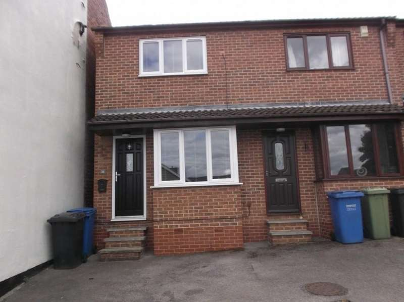 2 Bedrooms Town House for rent in Chapel Street, Brimington, Chesterfield, S43