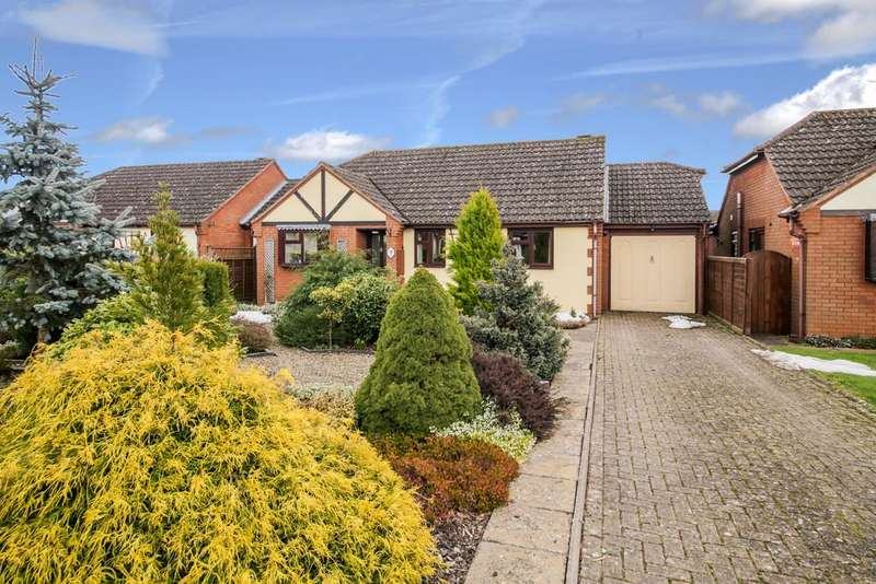 2 Bedrooms Detached Bungalow for sale in Burford, Tenbury Wells, Worcestershire, WR15 8LB
