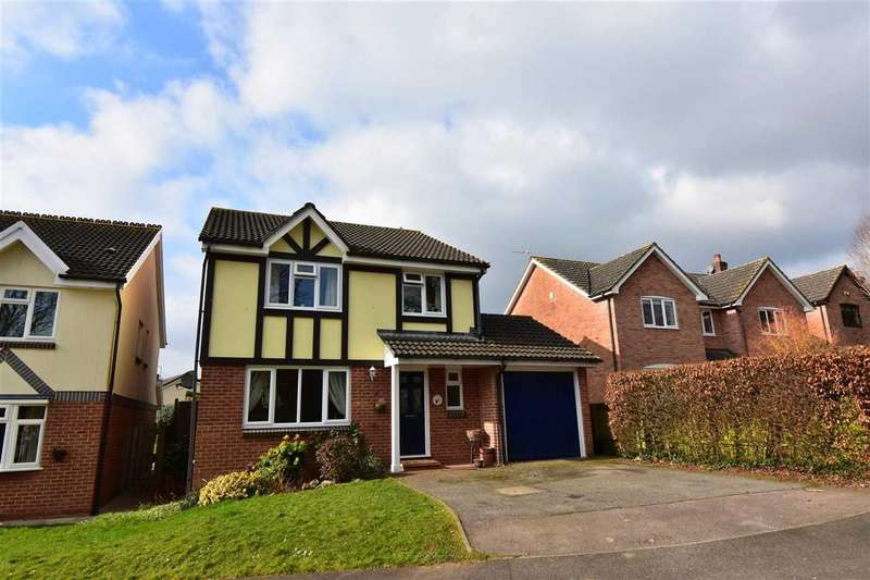 4 Bedrooms Detached House for sale in The Myrtles, Tutshill, Chepstow