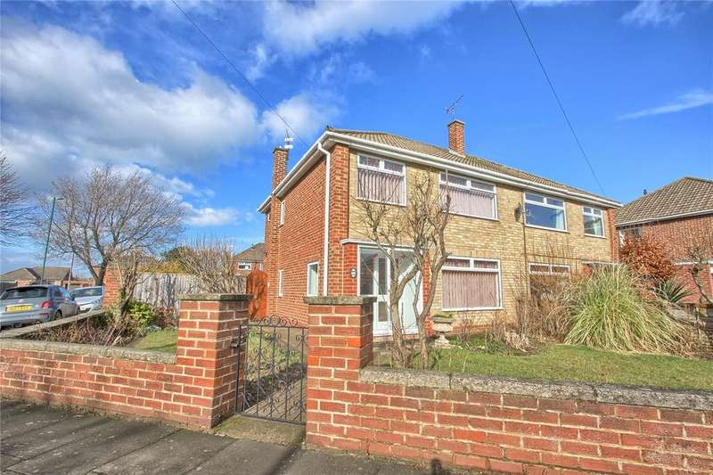 3 Bedrooms Semi Detached House for sale in Lingmell Road, Redcar
