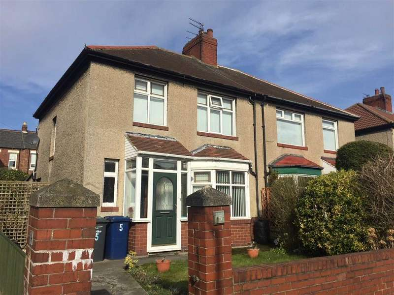 3 Bedrooms Semi Detached House for sale in Greta Gardens, South Shields
