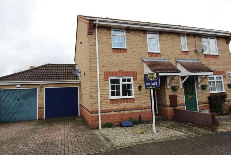 2 Bedrooms Semi Detached House for sale in Fawcett Drive, Steeple View, Basildon, Essex, SS15