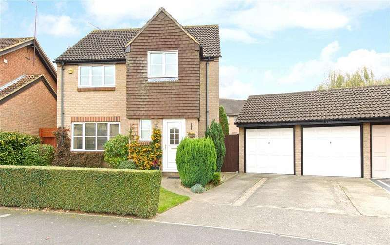 4 Bedrooms Detached House for sale in Greenwich Gardens, Newport Pagnell, Buckinghamshire