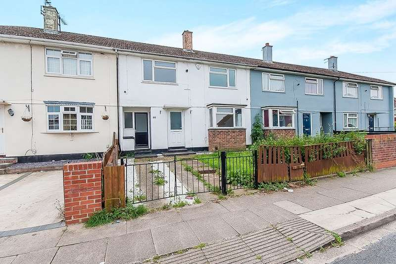 3 Bedrooms Terraced House for rent in Sherwood Road, Grimsby, DN34
