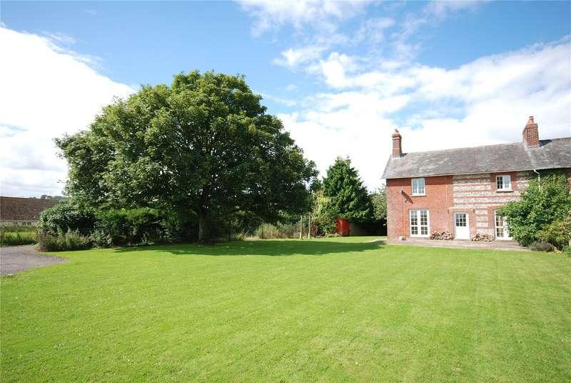 4 Bedrooms Semi Detached House for sale in Flamstone Street, Bishopstone, Salisbury, Wiltshire, SP5