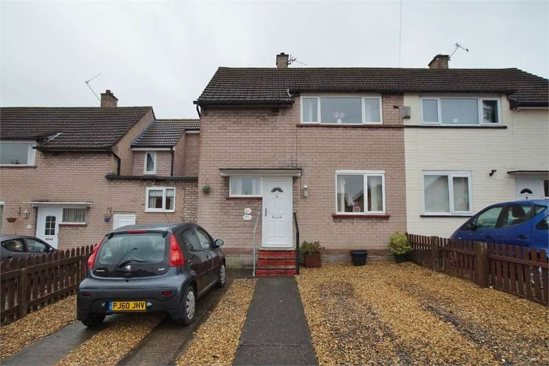 2 Bedrooms Semi Detached House for sale in CA1 3QU Springfield Road, Harraby, Carlisle, Cumbria