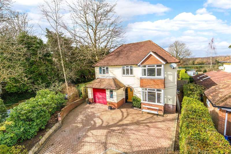 4 Bedrooms Detached House for sale in Lower Green Road, Pembury, Tunbridge Wells, Kent, TN2