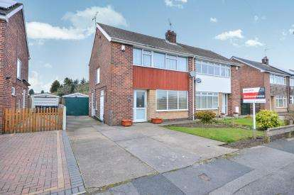 3 Bedrooms Semi Detached House for sale in Gill Street, Sutton In Ashfield, Nottinghamshire, Notts