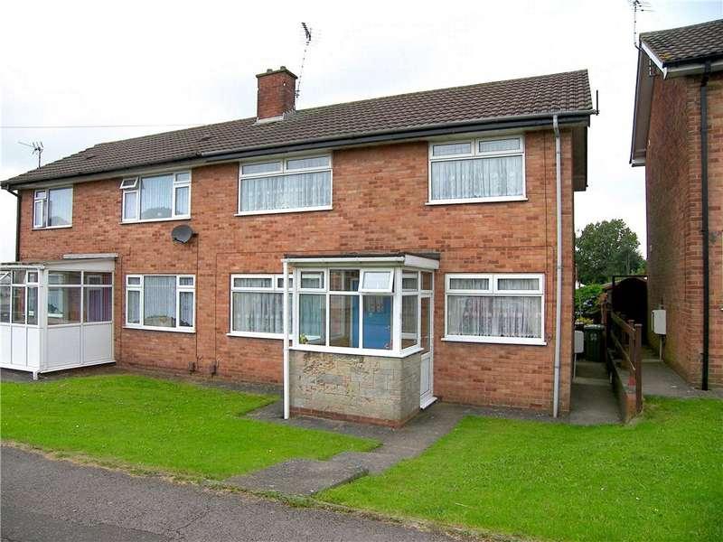 3 Bedrooms Semi Detached House for rent in Charnwood Crescent, Newton, Alfreton, Derbyshire, DE55