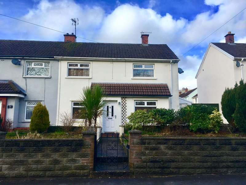 3 Bedrooms Semi Detached House for sale in Newport Road, Trethomas, Caerphilly