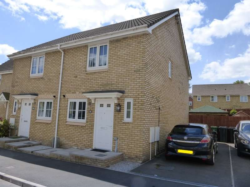 2 Bedrooms Semi Detached House for sale in Poplar Place, Llantarnam, Cwmbran