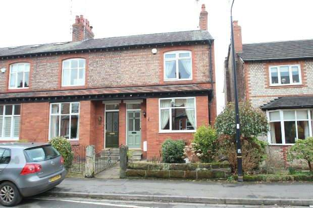 3 Bedrooms End Of Terrace House for sale in York Road, Bowdon