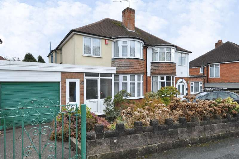 3 Bedrooms Semi Detached House for sale in Gristhorpe Road, Selly Oak, Birmingham, B29