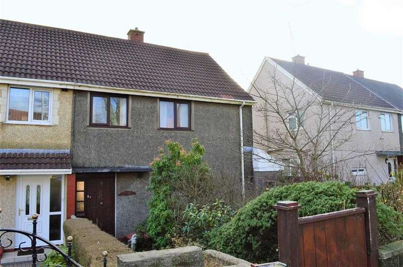 3 Bedrooms Semi Detached House for sale in Heol Gwyrosydd, Swansea, SA5