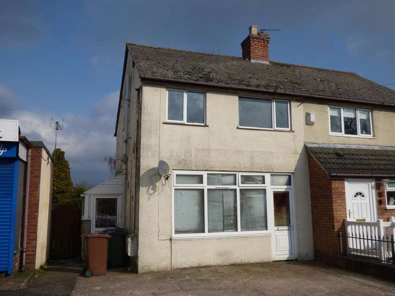2 Bedrooms Semi Detached House for sale in 32 32a Princess Street, Chadsmoor, Cannock, WS11 5JS (Auction Monday 26th March 2018)