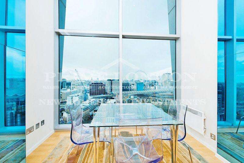 3 Bedrooms Apartment Flat for sale in The Perspective Building, 100 Westminster Bridge Road, Waterloo