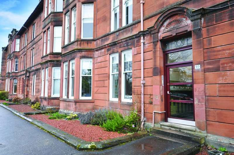 2 Bedrooms Ground Flat for sale in Flat 0/1 92 Kirkcaldy Road, Pollokshields, G41 4LD