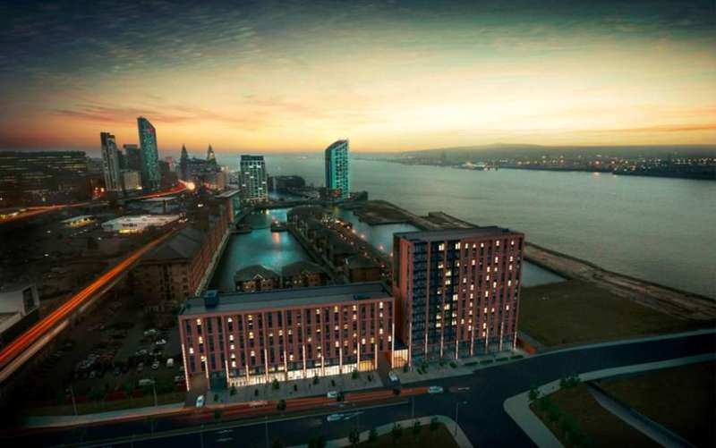 1 Bedroom Apartment Flat for sale in Quay Central, Liverpool Waters