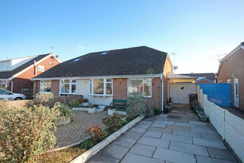 2 Bedrooms Semi Detached Bungalow for sale in Seacroft Crescent, Southport