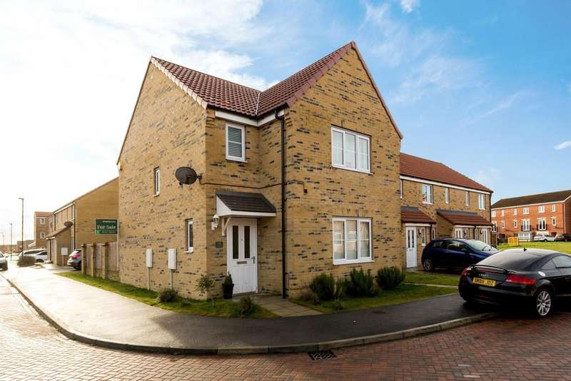 3 Bedrooms Detached House for sale in Hornbeam Close, Selby