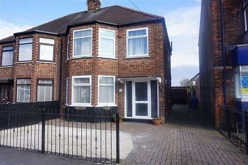 3 Bedrooms Semi Detached House for sale in Mollison Road, West hull, Hull, HU4
