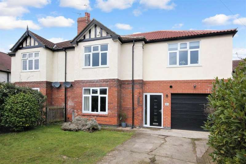 4 Bedrooms Semi Detached House for sale in 51 Stockton Lane York YO31 1BP